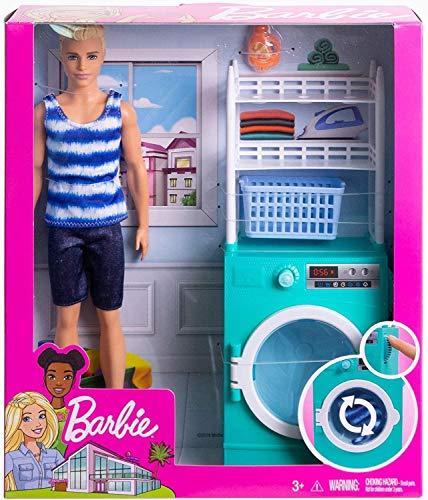 Mattel Barbie – Ken y su lavadora
