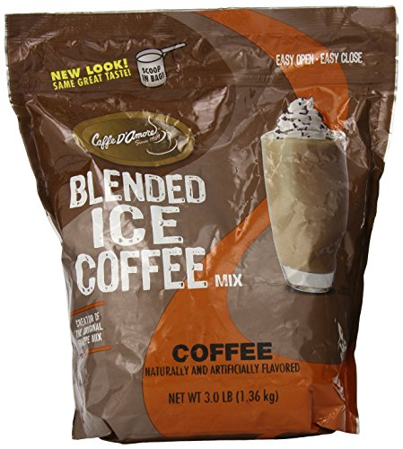 DaVinci Blended Iced Coffee Mix, Coffee, 3 Pound Bag