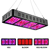 1200w LED Grow Light with Veg&Bloom...