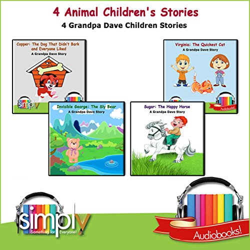 4 Animal Children's Stories cover art