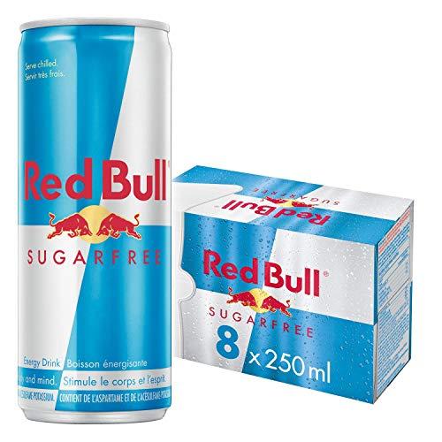 Red Bull Energy Drink Sugar Free (8x250ml)