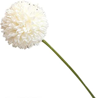 comprar comparacion babysbreath17 Artificial Crisantemo de Tela Real Touch Falso Flores Inicio Decorativa de la Boda Flores de simulación Blan...