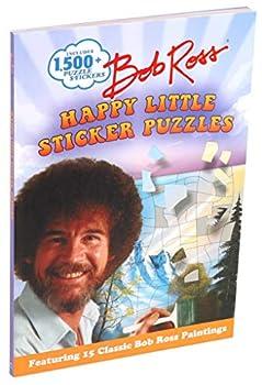Bob Ross Happy Little Sticker Puzzles  Sticker Art Puzzles