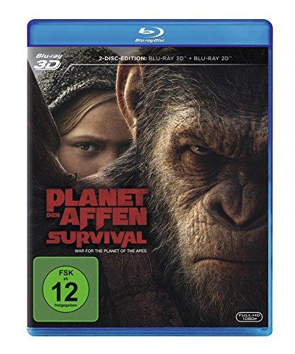 Planet der Affen: Survival [3D Blu-ray]