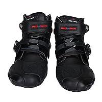 バイク用ブーツ PROレーシングブーツ ブラック&42(約26-26.5CM)