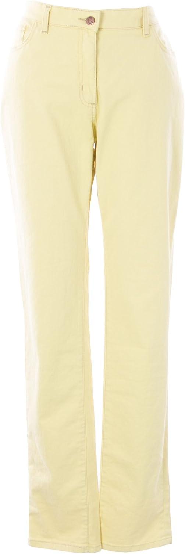 BODEN Women's Skinny Jeans US Sz 14L Maize Yellow