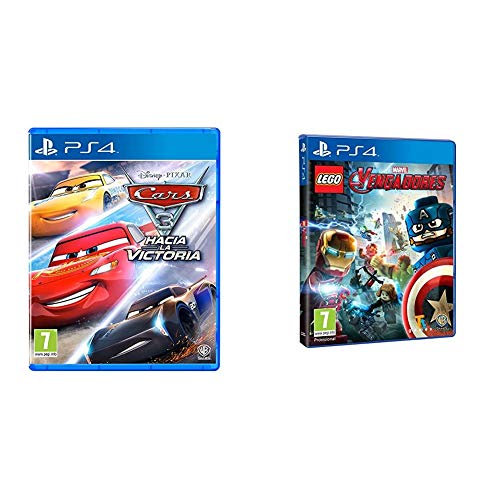 Warner Bros Interactive Cars 3 + Warner Bros Entertainmnet Lego Vengadores - [Edición: España]
