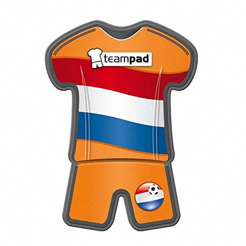 Teampad Fanartikel Antirutschpad Autohalterung für Handy & Navi in Trikot Style - Niederlande Flagge