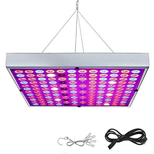 Rosnek Pflanzenlampe 25W 45W, Vollspektrum LED Grow Lampe mit UV & IR Licht Pflanzenlicht Full Spectrum für Gewächshaus Wachstumslampe Gemüse und Blumen Pflanzenleuchte