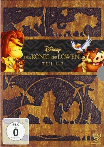 Der König der Löwen - Teil 1-3 (3 DVDs)