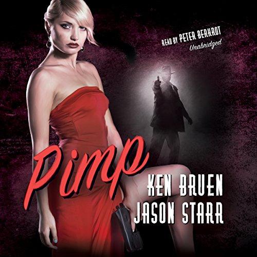 Pimp audiobook cover art