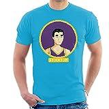 Cloud City 7 John Stockton Profile Pixel Men's T-Shirt