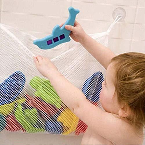 waysad Badewannenspielzeug Spielzeug Netz Aufbewahrung Badewannennetz Für Spielzeug Mit 2 Ultra Strong Hooked Saugnäpfe Badespielzeug Netz Befestigung Ohne Bohren Advantage