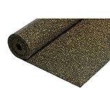 acerto 30001 Aislamiento acústico de caucho 10,5 m² / 3 mm * Extremadamente elástico * ...