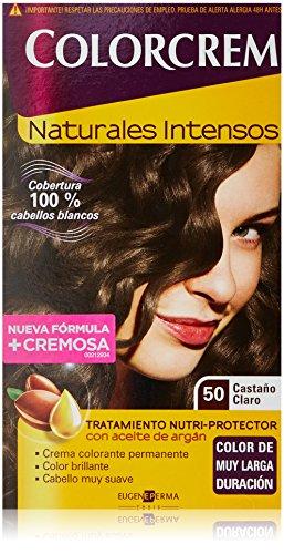 COLORCREM tinte Castaño Claro Nº 50 caja 1 ud: Amazon.es: Belleza