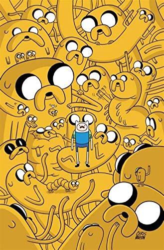 LDTSWES® Rompecabezas de Anime, Cuadro de Rompecabezas de Madera para Adultos - Hora de Aventura, Juguetes de Juego para Niños Relajación de Descompresión Adulta 1000 Piezas