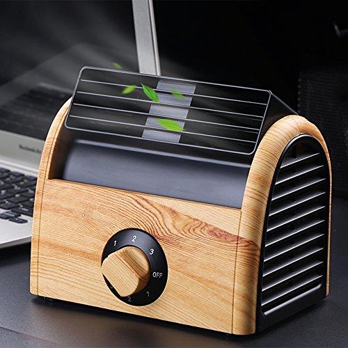 Lüfter ZHANGRONG- Portable Retro MiniUSB Silent Büro/Home Light-Weight Desktop Kühler für Laptop, Netbook (Farbe : B)