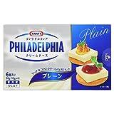 [冷蔵] 森永乳業 フィラデルフィア クリームチーズ 6P プレーン 90g