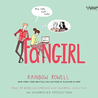 Fangirl                   Written by:                                                                                                                                 Rainbow Rowell                               Narrated by:                                                                                                                                 Rebecca Lowman,                                                                                        Maxwell Caulfield                      Length: 12 hrs and 49 mins     42 ratings     Overall 4.6
