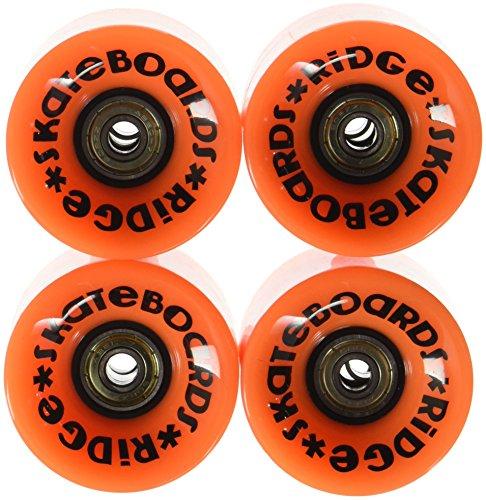 Ridge Skateboard Rollen Cruiser, orange, 59 mm, r-logo-cw