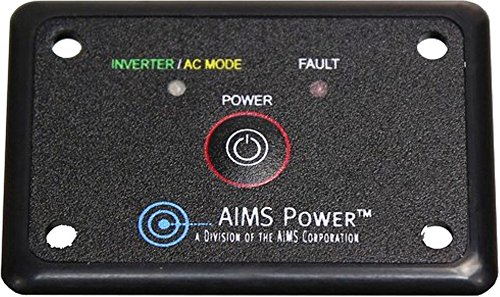 AIMS Power REMOTEHF Flush Mount Power Inverter Remote On-Off Switch