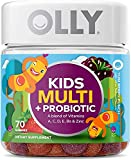 Best Gummy Multi Vitamin For Kids - OLLY Kids Multi-Vitamin and Probiotic Gummy Supplements, Yum Review