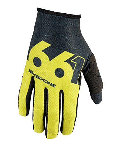 661 Comp Slice Cycling Gloves - Yellow-L