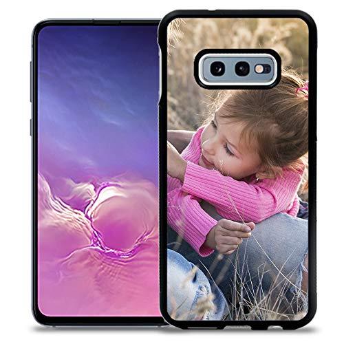 Fundas de móvil Samsung S10e Personalizadas con Fotos y Texto | Fundas Negras con los Laterales Flexibles para el Samsung Galaxy S10e