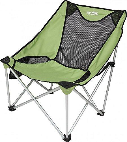 High Colorado Camping-Stuhl Light Schwarz-Grün