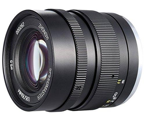 Gowe 35mm F0,95APS-C Full Frame Kamera Objektiv für Sony E Mount Kamera Portraitfotografie