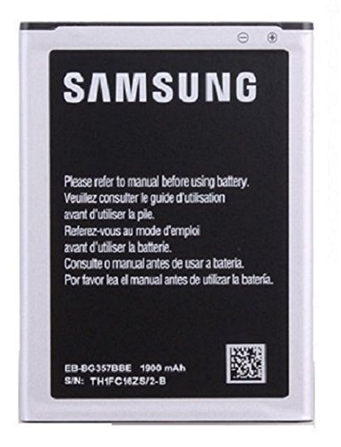SAMSUNG BT-EBBG357BBE Bateria 1900Mah 3.8V 7.22Wh per Sam Galaxy Ace 4, Argento