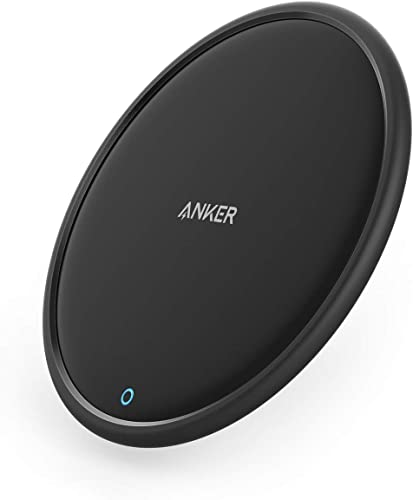 high quality Anker Wireless Charger, PowerWave Pad, Qi-Certified, 7.5W sale for iPhone 11, 11 Pro, 11 Pro Max, Xs Max, XR, XS, X, 8, 8 Plus, 10W for Galaxy S10 S9 S8, Note 10 Note popular 9 (No AC Adapter) sale