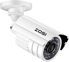 ZOSI 1080P HD 1920TVL Hybrid 4-in-1 TVI/CVI/AHD/960H CVBS CCTV Camera 24PCS IR-LEDs Security Day/Night Weatherproof Bullet Surveillance Cameras For HD-TVI, AHD, CVI, and CVBS/960H analog DVR (White)