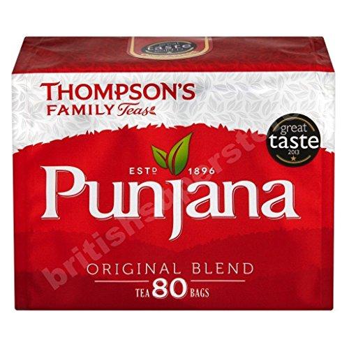 Thompson's Family Teas Punjana Original Blend 80 Bag
