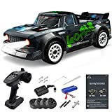 Mostop Remote Control Car RC Fast Cars, 1/16 Proportional Throttle & Steering Control RC Drift Car 4WD High Speed Buggy 20MPH, 2.4Ghz Off-Road Vehicle Monster Truck with Lights for Kids Adults