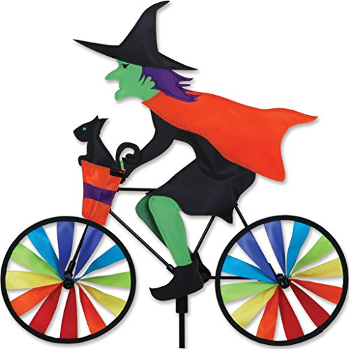 Premier Kite Bike Spinner Witch Figur Wetterfahne Orange