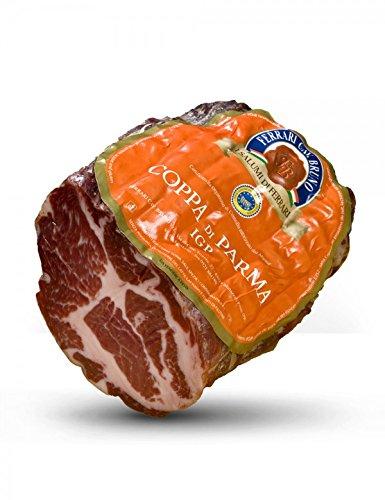 Coppa (Kopfnackenwurst) aus Parma g.g.A. Hälfte 900 gr circa vakuumverpackt