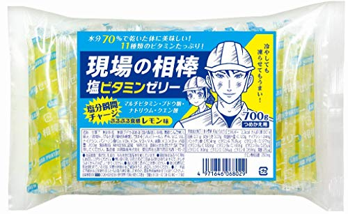 現場の相棒 塩ビタミンゼリー 詰替え700g入り