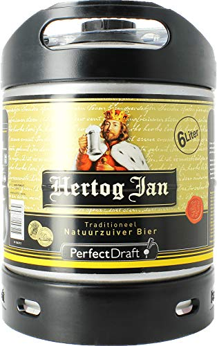 Jan Hertog Pilsener 6l Perfect Draft Fass (1 x 6l)