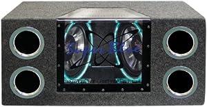 1000W Dual Bandpass Speaker System