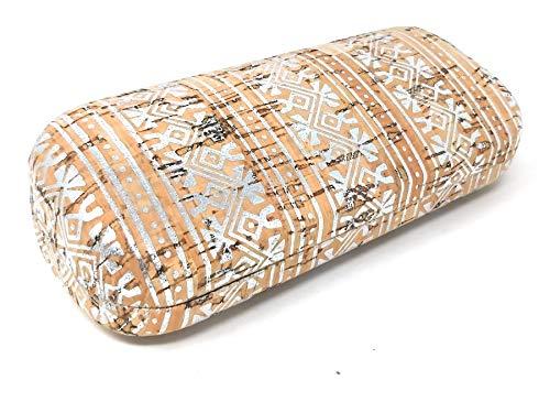 Funda Gafas Mujer Chica corcho 100 x 100 sostenible biodegradable (White Picto)