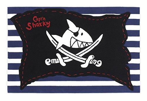 Capt´n Sharky Kinderteppich, Bunt