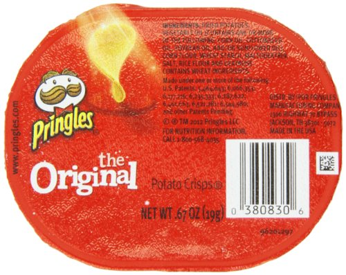 Pringles Original Flavored Potato Chips - 32 Individual Packs Snack Stacks, 0.67-Ounce each