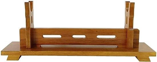 Zwaardhouder Stand Katana Samurai Solid Wood Sword Stand Stand Sword Rack Horizontal Klassieke Wapen Wakizashi Tanto Enkel...