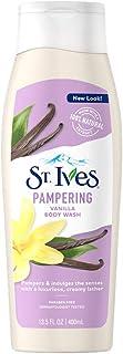 St. Ives Pampering Vanilla Body Wash, 400 ml