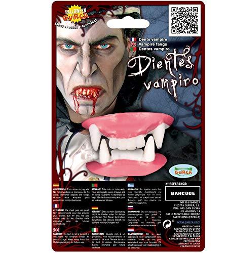 Fiestas Guirca Dentiera per Travestimento Dracula Vampiro in Lattice