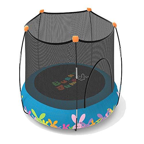 Devessport – Trampolín Buny Jump 2 en 1 – Parque de Juegos y Cama elástica – Color Azul