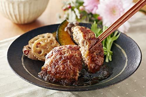 [トリゼンフーズ] ギフト 九州産 華味鳥 使用 黒豚 ハンバーグ セット 8個