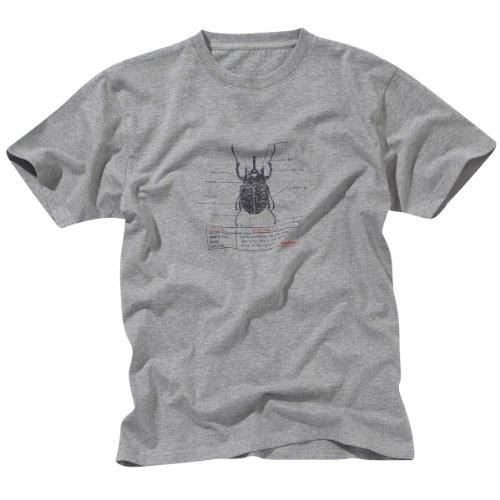 Craghoppers Bear Beetle T-Shirt pour Enfant XXL Gris marbré