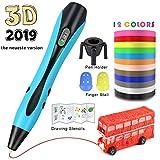 Pluma de impresión 3D, 3D Pluma Inteligente Pen Bolígrafo de Impresión...